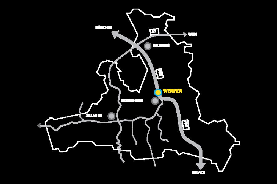 Karte und Anfahrt